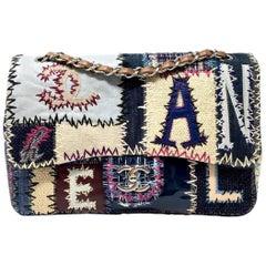 Chanel Multicolor Patchwork Jumbo Classic Single Flap Bag, 2012