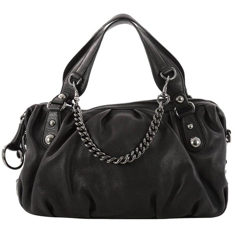 Gucci Icon Bit Satchel Leather Medium