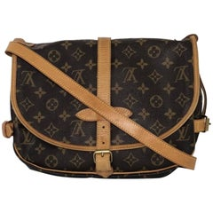Louis Vuitton Monogram Saumur 30 Crossbody Handbag