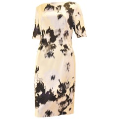 Lela Rose Ikat Print Dress
