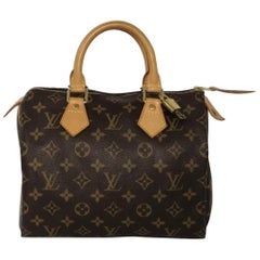 Louis Vuitton Monogram Speedy 25 Top Handle Satchel Handbag