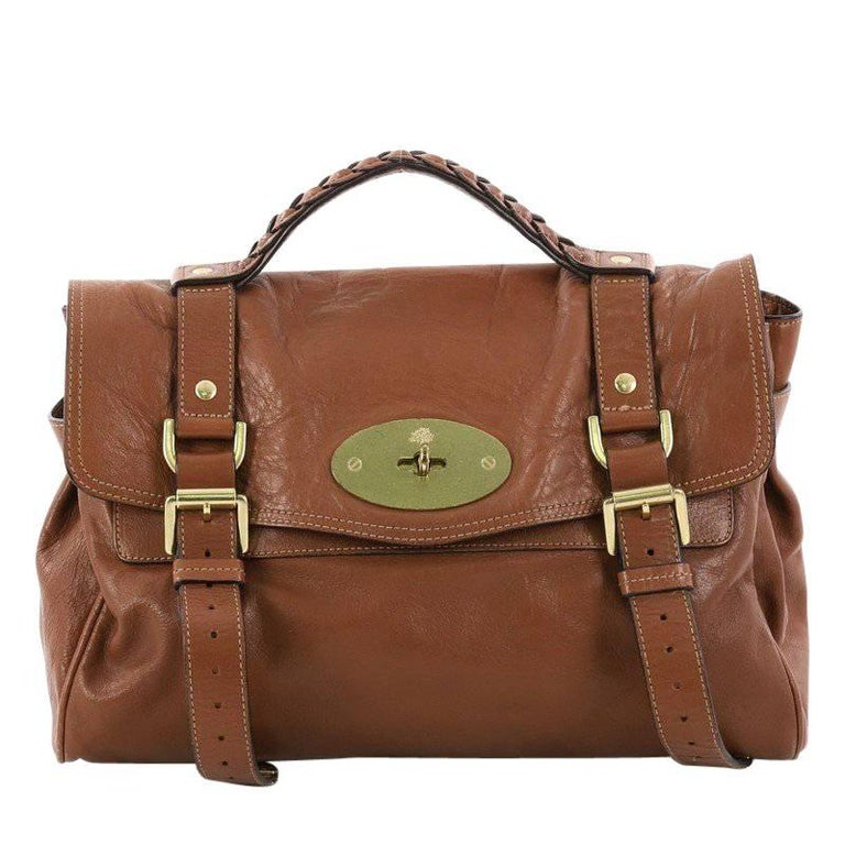 Mulberry Alexa Satchel Polished Buffalo Medium. HomeFashionHandbags and  PursesTop Handle Bags. Mulberry Brown Leather Bayswater For Sale bdd06d9a665a3