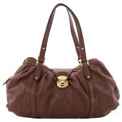 Louis Vuitton Lunar Handbag Mahina Leather GM