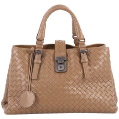 Bottega Veneta Roma Handbag Intrecciato Nappa Small