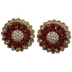 Francoise Montague Eden Clip Earrings