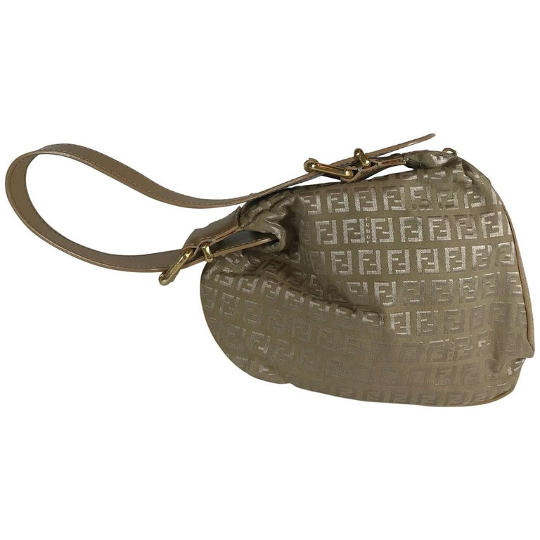 c003ada4fe0e Fendi Zucca Oyster Bag For Sale at 1stdibs