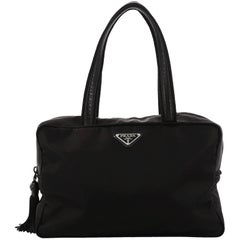 Prada Convertible Boston Bag Tessuto Medium