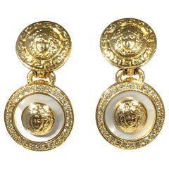 Gianni Versace Medusa Earrings