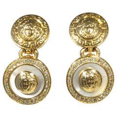 Gianni Versace Medusa Earrings