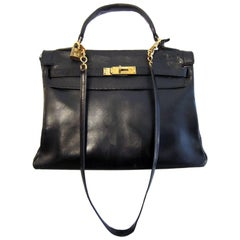 Hermes Kelly Black 32cm