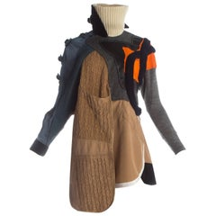 Balenciaga by Nicolas Ghesquière Mixed media sports dress, A / W 2002