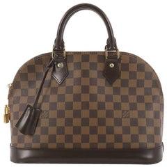 Louis Vuitton Alma Handbag Damier PM