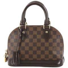 Louis Vuitton Alma Handbag Damier BB