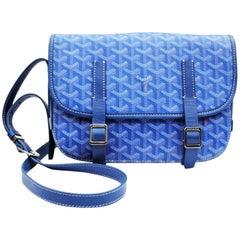 Goyard Belvedere Royal Blue Messenger Bag