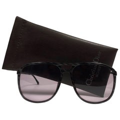New Vintage Christian Dior Monsieur Oversized 2258 Sunglasses 1970's Austria