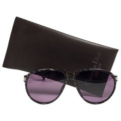 New Vintage Christian Dior Monsieur Oversized 2266 Sunglasses 1970's Austria
