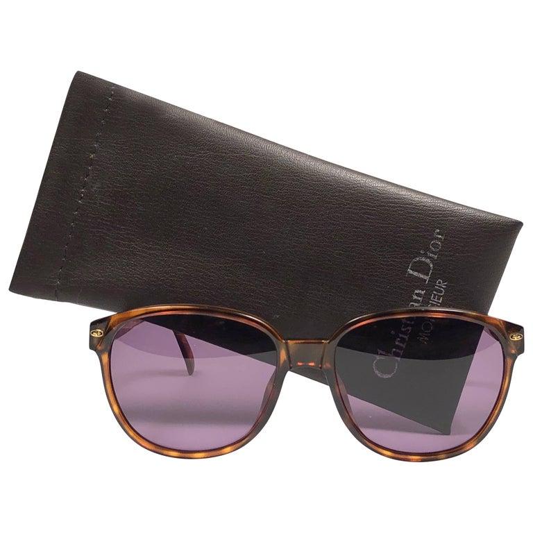 New Vintage Christian Dior Monsieur Large 2265 Sunglasses 1970's Austria