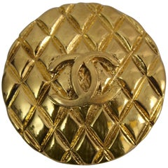 Gold Plated Chanel Brooche