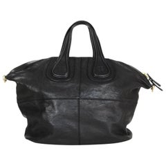 Givenchy Black Leather Medium Nightingale Tote Bag- Missing Strap