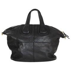 Givenchy Black Leather Medium Nightingale Tote Bag- Missing Strap