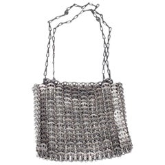 "Paco Rabanne ""Le 69"" Bag Reissue in Antique Silver Medallions"