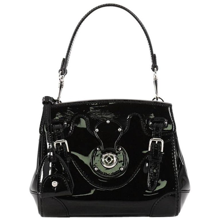 8769288f5df9 Ralph Lauren Collection Ricky Crossbody Bag Patent Mini at 1stdibs