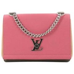 Louis Vuitton Lockme II BB Leather Handbag