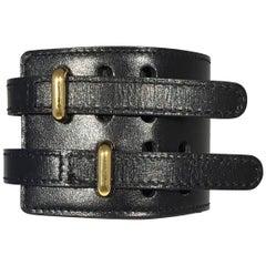 Hermes 2003 Lise Leather Bracelet