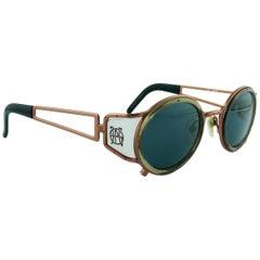 Jean Paul Gaultier Vintage Sunglasses with Side Shields 58-6201