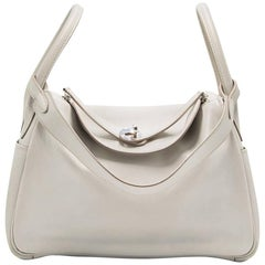 Hermes Blanc White Lindy Bag