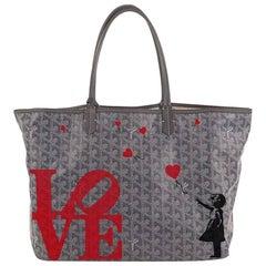 Goyard Customised Monogram St Louis Bag