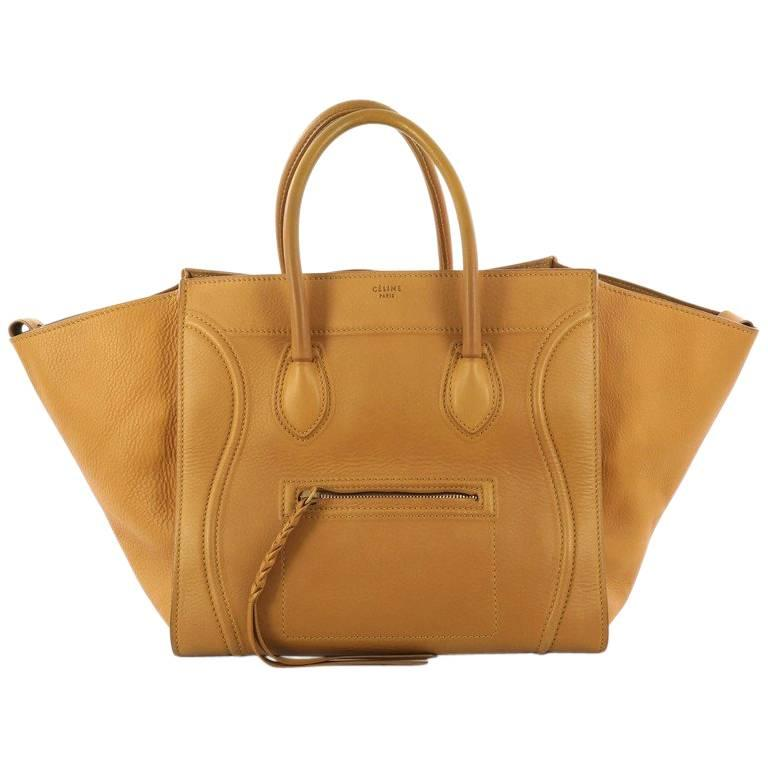 1stdibs Celine Phantom Handbag Grainy Leather Medium duUV30m6CB