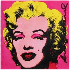 AFTER ANDY WARHOL Marilyn (Castelli Invitation), 1981