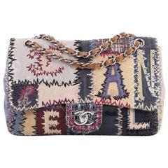 Chanel Flap Bag Multicolor Patchwork Jumbo