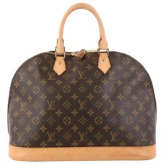 Louis Vuitton Alma Handbag Monogram Canvas GM
