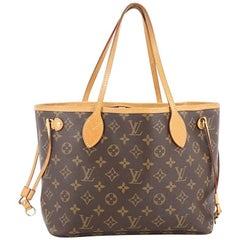 Louis Vuitton Neverfull NM Tote Monogram Canvas PM