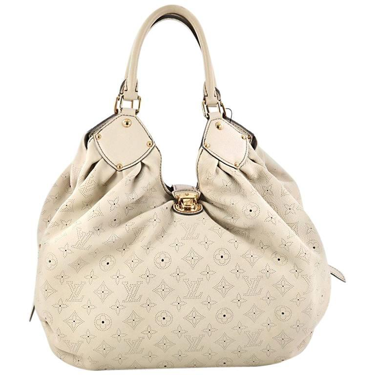 Louis Vuitton L-Hobo Mahina Leather
