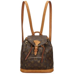 Louis Vuitton Brown Monogram Mini Montsouris