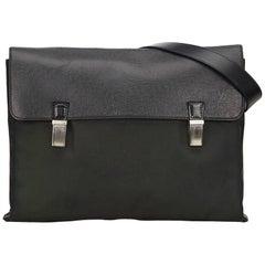 Louis Vuitton Green x Black Taiga Saratov GM