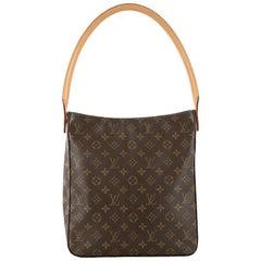 Louis Vuitton Looping Handbag Monogram Canvas GM