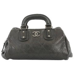 Chanel Outdoor Quilted Caviar Small Ligne Doctor Bag