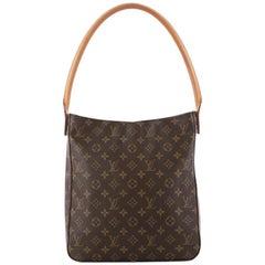 Louis Vuitton Monogram Canvas GM Looping Handbag