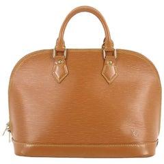 Louis Vuitton Vintage Epi Leather PM Alma Handbag