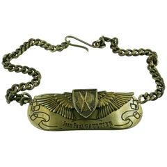 "Jean Paul Gaultier Limited Edition Belt ""Anniversaire 1976-2001"""