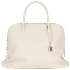 2014 Hermès Craie Epsom Leather Bolide 45cm