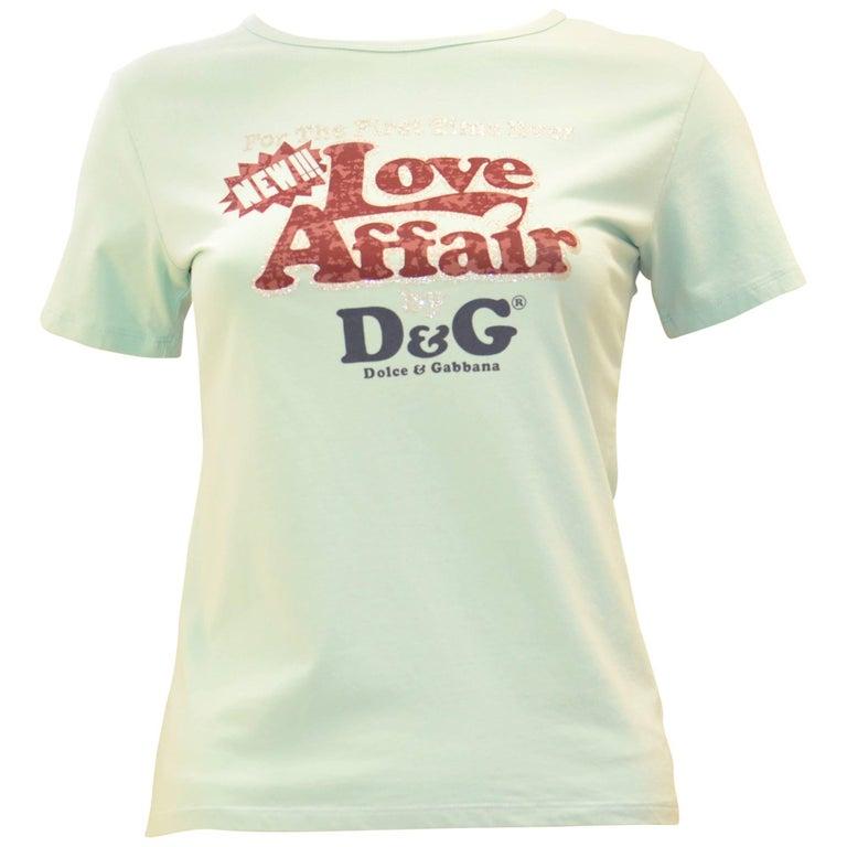 "Dolce & Gabbana ""Love Affair"" T-Shirt"