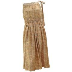 Marni Woven Silk Dress M