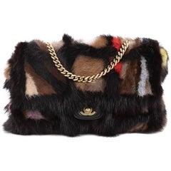 Chanel Multicolor Arm Candy Flap Bag Mink Medium