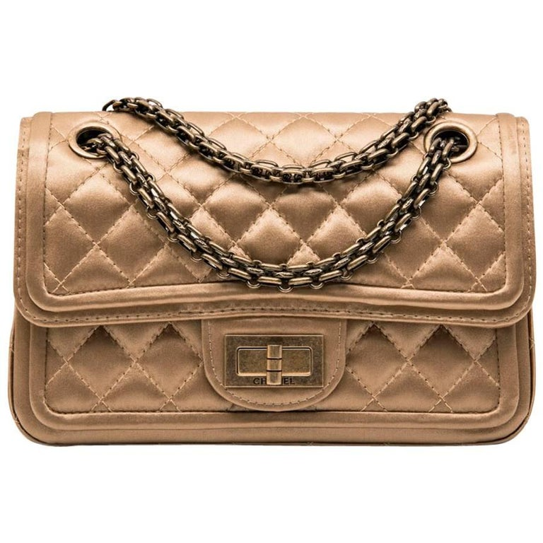 """Chanel Golden Duchess Satin """"Paris Shanghai"""" Double Flap Bag"""