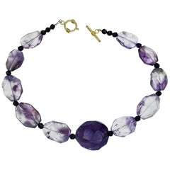 Amethyst Necklace with Amethyst Focal